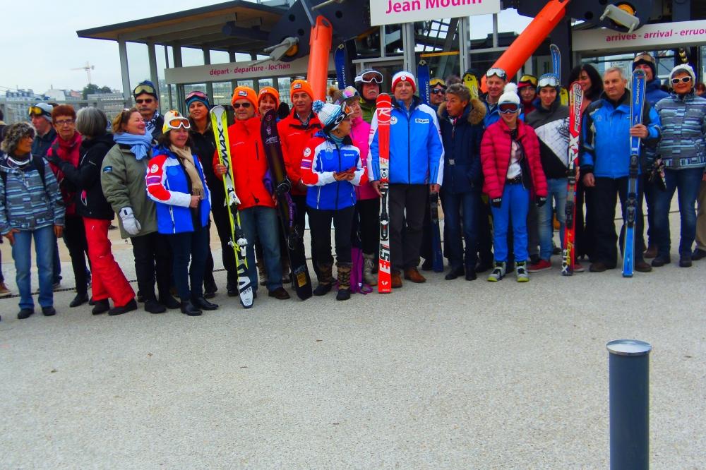 Opération promotion du ski à Brest